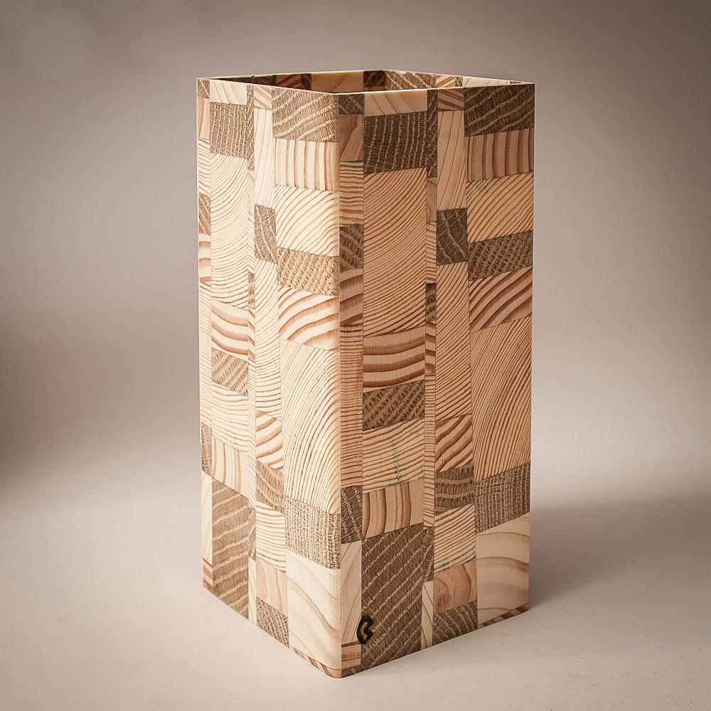 douglasie kiefer ficht eich 7x15cm holz windlicht. Black Bedroom Furniture Sets. Home Design Ideas