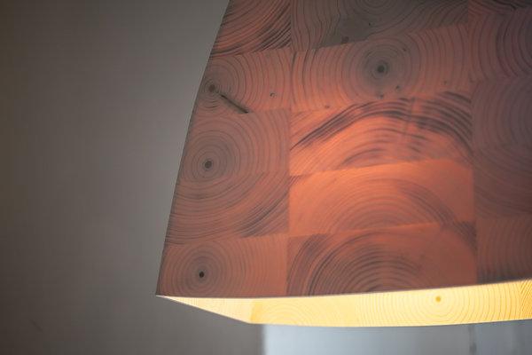 bildergalerie der leuchten aus holz i holz und licht im. Black Bedroom Furniture Sets. Home Design Ideas