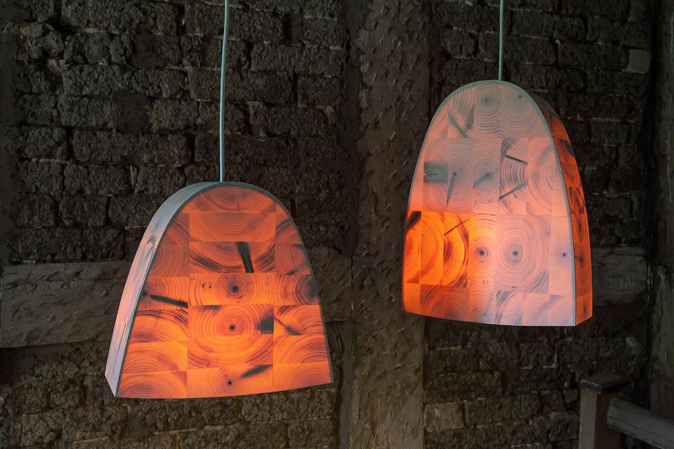 bildergalerie der leuchten aus holz i holz und licht im oderbruch. Black Bedroom Furniture Sets. Home Design Ideas