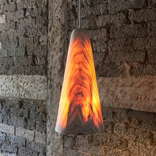 leuchte aus eschenholz holz und licht von christian masche. Black Bedroom Furniture Sets. Home Design Ideas
