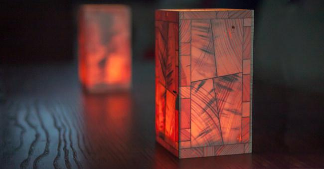 Das Exclusive Windlicht Aus Holz Das Geschenk Aus Dem