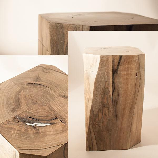 Urnen-Design aus Holz von Christian Masche
